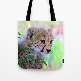 Aqua_Cheetah_20180102_by_JAMColorsSpecial Tote Bag