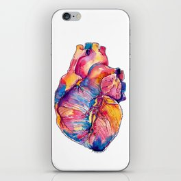 Heart Is On Fire iPhone Skin