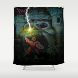 By the Power of Grayskull, I Have the POWWWEEERRR!!!! Shower Curtain