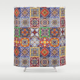 Talavera Design-1 Shower Curtain