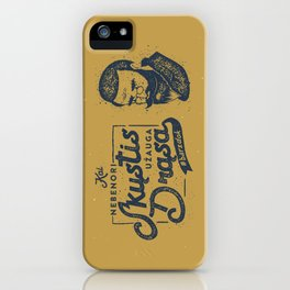 No Shave November Lithuania iPhone Case