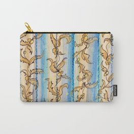 Seaweed Stripes Carry-All Pouch