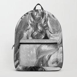 Constantin Hansen - Studie af en ung kvinde (Oline Købke) Backpack