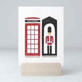 London Calling Mini Art Print