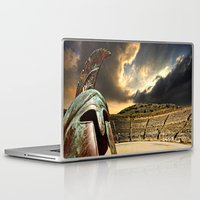 greece Laptop & iPad Skins featuring ancient Greece by Meirion Matthias
