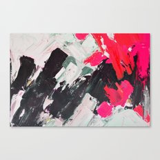 Hot Pink Franz Canvas Print