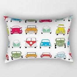 Beta+family cars Rectangular Pillow