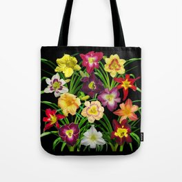 Display of daylilies I Tote Bag