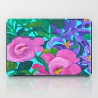 flora iPad Cases featuring Flora by marlene holdsworth