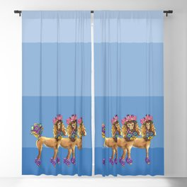 Oodles of Poodles Blackout Curtain