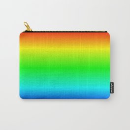 Ombre Rainbow Carry-All Pouch