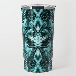 Le Fleurs en Turquoise Travel Mug