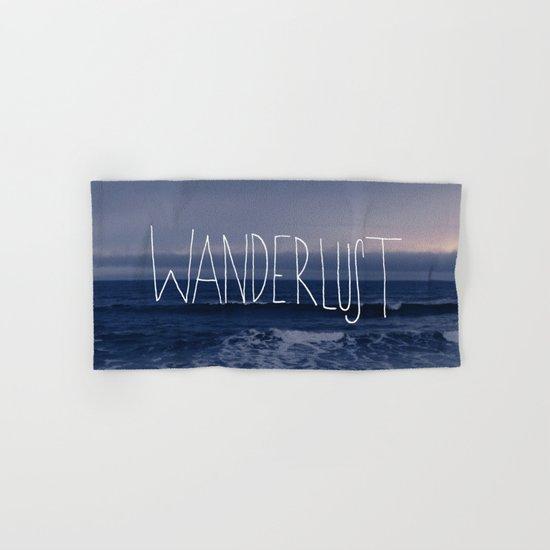 Wanderlust Ocean Hand & Bath Towel