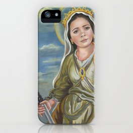 Saint Catherine of Alexandria iPhone Case