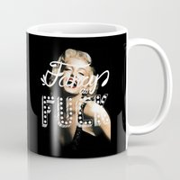 fancy Mugs featuring FANCY by Tara Chambers