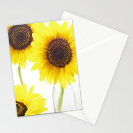 Three Sunflowers Stationery Cards