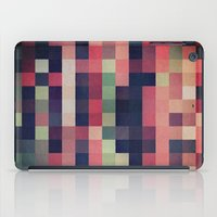 quilt iPad Cases featuring quilt n2 by spinL