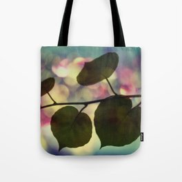 Kiwi leaves Tote Bag
