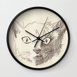 Progressive Cat Wall Clock