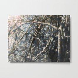 Frozen sticks Metal Print