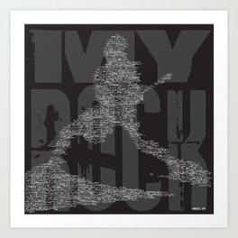 myRock Art Print