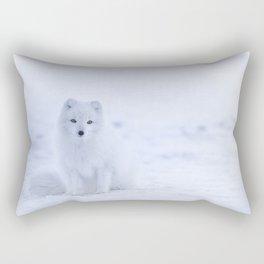 Arctic Fox 2 Rectangular Pillow