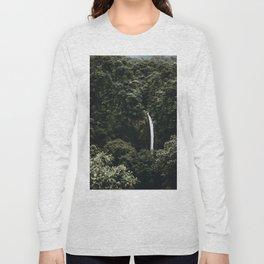 Waterfall / Costa Rica Long Sleeve T-shirt