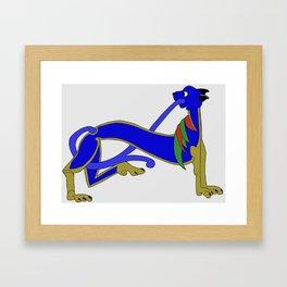 Book of Kells Dog 1 Framed Art Print