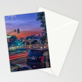 Sunset over Laguna Beach Stationery Cards