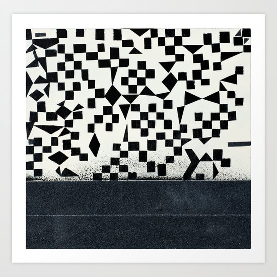 HopSkotchChess Art Print