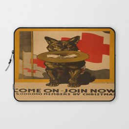 Vintage poster - Come On, Join Now Laptop Sleeve