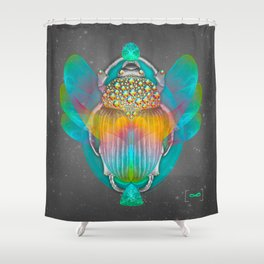The Darkest Night Will End and the Sun Will Rise Shower Curtain