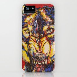 Canis Rufus iPhone Case