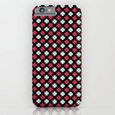 Hashtag Pattern Slim Case iPhone 6s