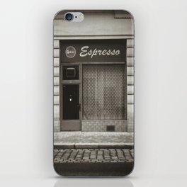 Espresso bar, Vienna iPhone Skin