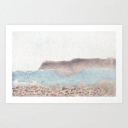 Coronado Beach Art Print