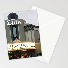 Lido Theatre - Newport Beach Stationery Cards