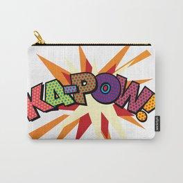 Comic Book Pop Art Sans KA-POW Carry-All Pouch