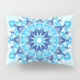 Mandala V Pillow Sham