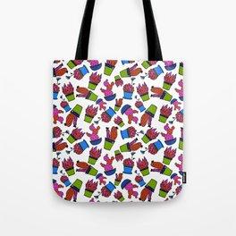 Cacti paradise pattern Tote Bag