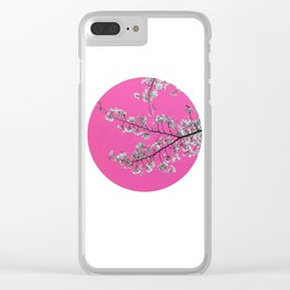 Spring, Cherry Blossom Time Clear iPhone Case