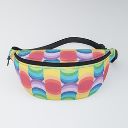 Rainbow Dragon Scales 1 Fanny Pack
