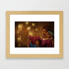 This is Magic Framed Art Print