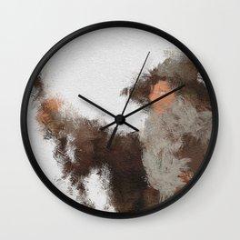 The Grey Pilgrim Wall Clock