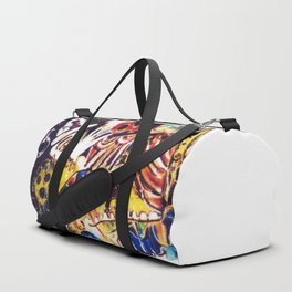 LIFE is a Circus           by Kay Lipton Duffle Bag