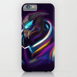 NEON Garrus - Fan Art iPhone Case
