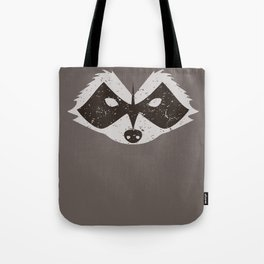 Rocket Raccoon - Log Trap Tote Bag