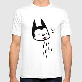 raspberry cat T-shirt