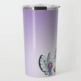 Lonely Butterfree Travel Mug