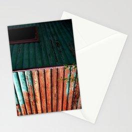 Peeling Turquoise Stationery Cards